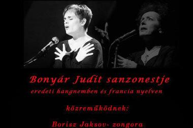 Bonyár Judit sanzonestje, 2016, Május 16-án, Széchenyi Kertvendéglõ, Állatkerti Krt. 9 - 11., Budapest